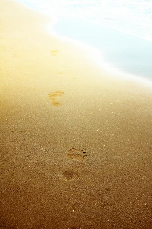 sand footprints 2