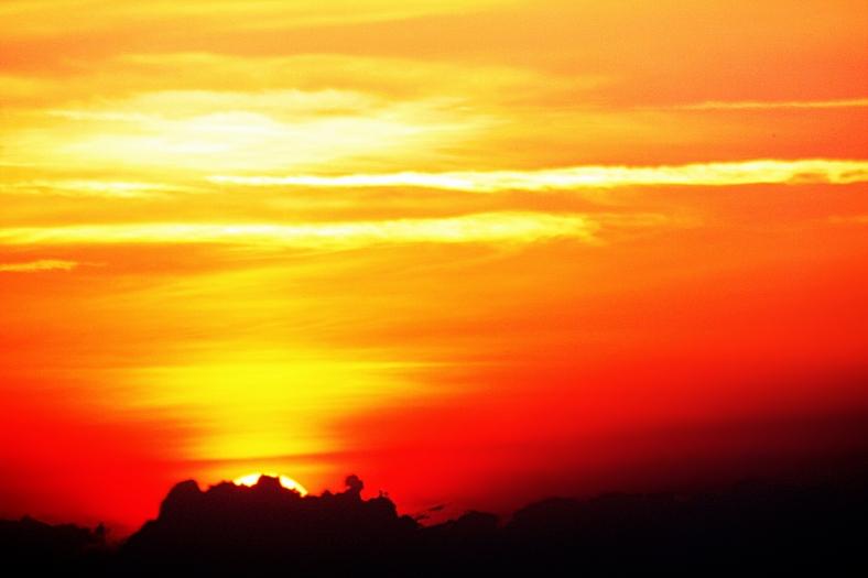 orange sun sky 2