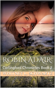 new Robin Adair front cover with title